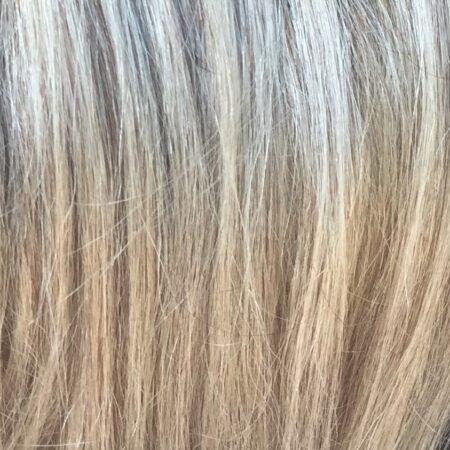 v-part haarstuk ash blond