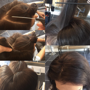 Hoe plaats je een v part haarstuk